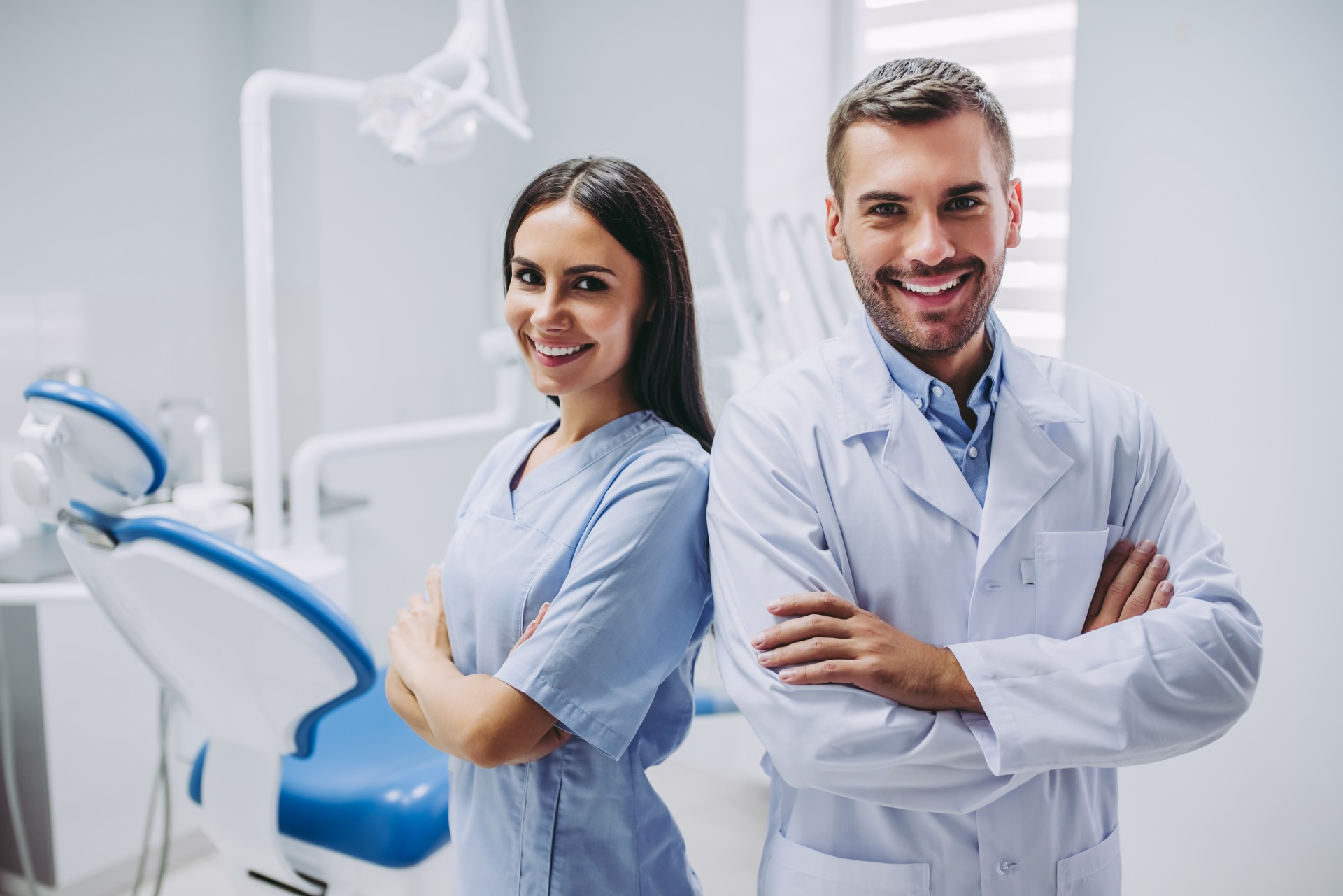 Male And Female Dentists